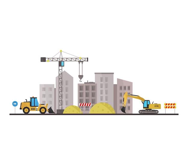 Ville en construction