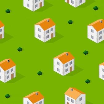 Ville isométrique sans soudure