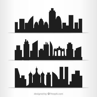 Villes contours pack