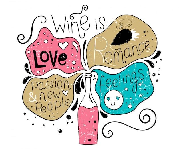 Vin et sensations