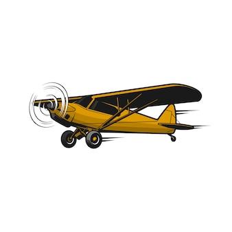 Vintage d'avion