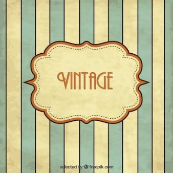 Vintage background rayé