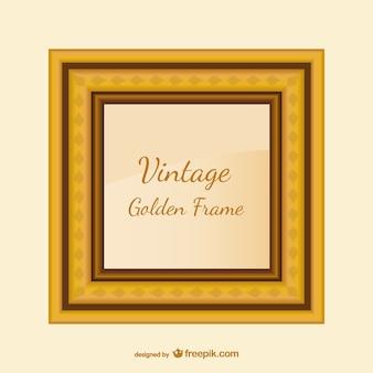 Vintage cadre doré