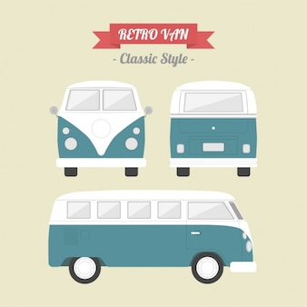 Vintage design van