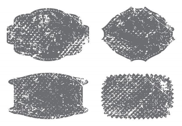 Vintage étiquettes texturées