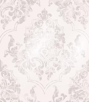Vintage fond baroque orné