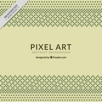 Vintage fond décoratif de pixels