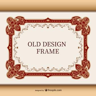 Vintage frame ornement
