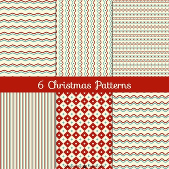 Vintage patterns noël modifiables