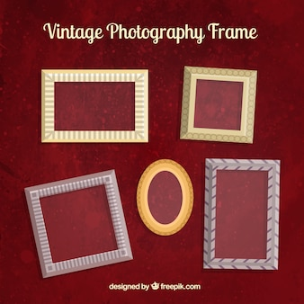 Vintage photographie cadres
