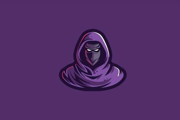 Violet assasins clip-art pour logo esports