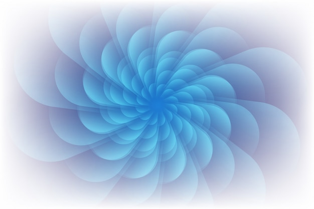 Violet clair enroulé dans un mouvement circulaire