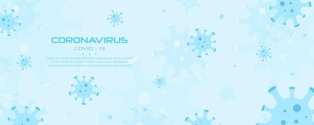 Virus corona, épidémie internationale mondiale, pandémie. bactérie symbole de danger. infection respiratoire pathogène en chine.