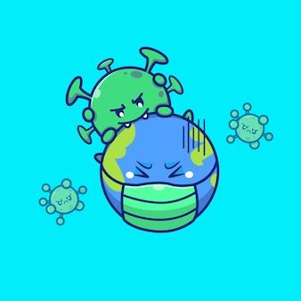Virus corona world scare