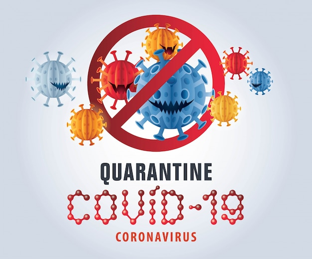 Virus de l'épidémie de pandémie coronavirus covid-19. concept de prévention covid-19