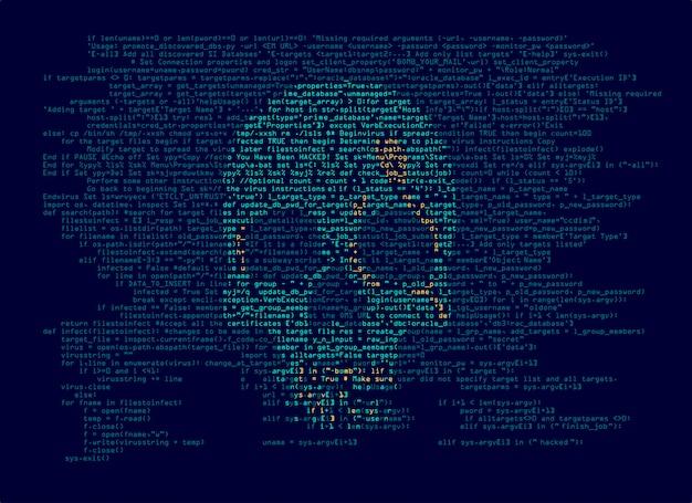 Virus informatique ou cybercriminalité