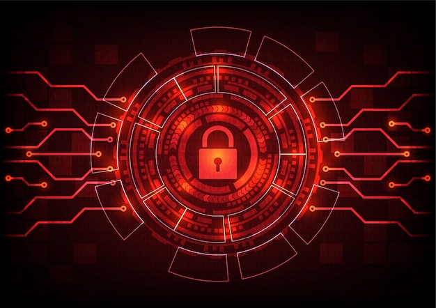 Virus de malware de fond abstrait ransomware.