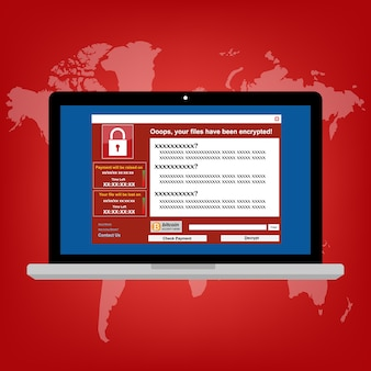 Virus malware ransomware