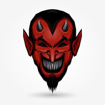 Visage de diable