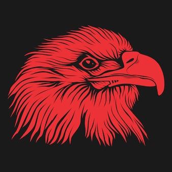 Visage d'oiseau