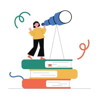 Vision, éducation, recherche de l'opportunité.