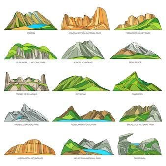 Visite naturelle des montagnes et de la vallée des rochers