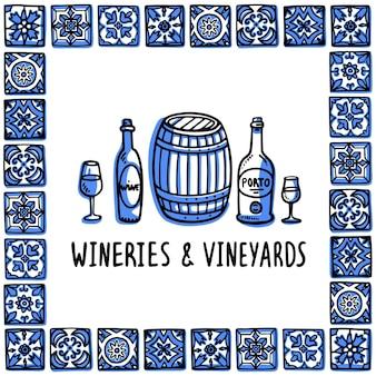 Visite des vignobles et des vignobles portugais