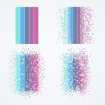 Visualisation big data. algorithme informatique