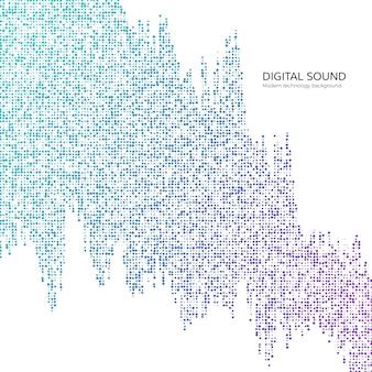Visualisation des flux big data. flux de données numériques. fond de technologie abstraite dans les couleurs bleues.