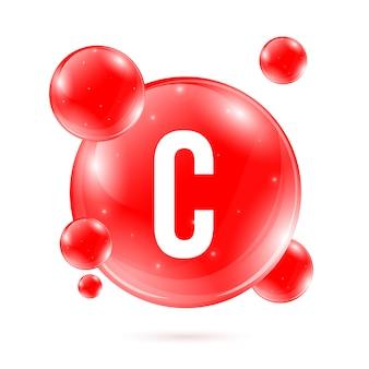 Vitamine b6. capsule de gouttes de minéraux de pyridoxine.