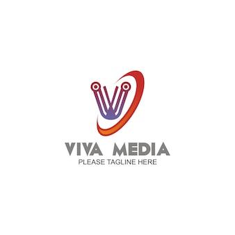 Viva media logo