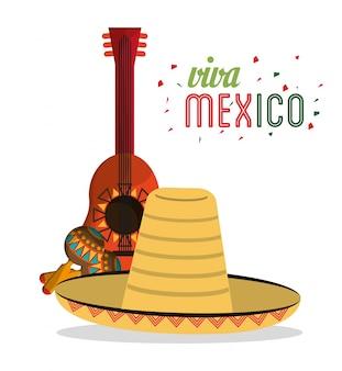 Viva mexico carte