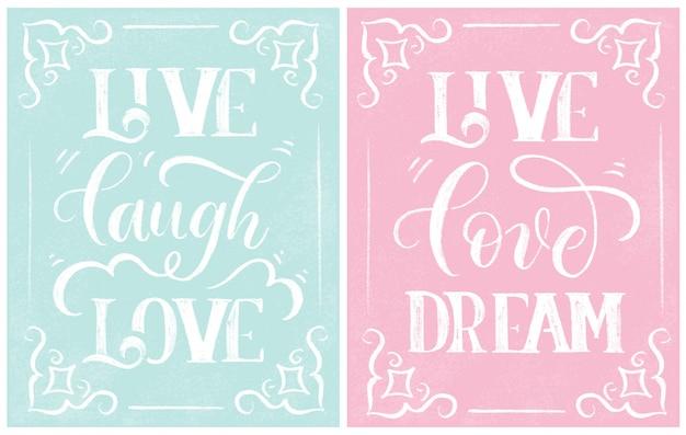 Vivre rire amour