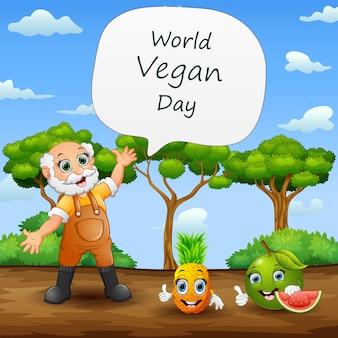 Voeux de la journée mondiale des végétaliens