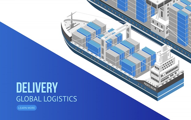 Voilier pour la logistique globale