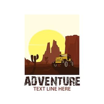 Voiture d'aventure