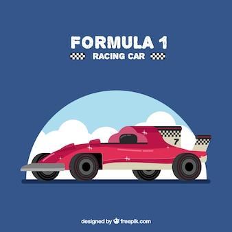 Voiture de course de formule 1