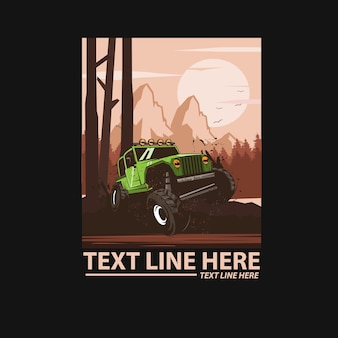 Voiture jeep aventure