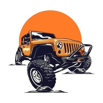 Voiture jeep