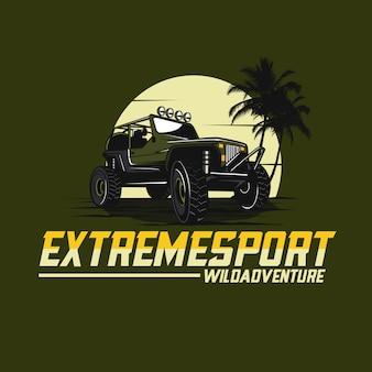 Voiture de jeep