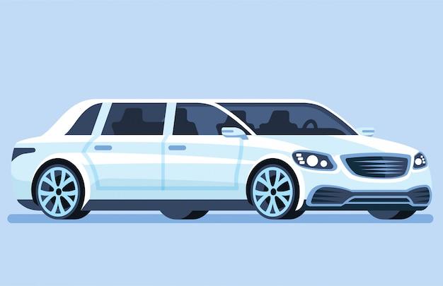 Voiture de luxe. véhicule futuriste intelligent.