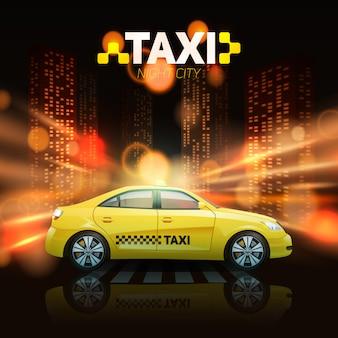 Voiture de taxi