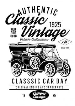 Voiture vintage classique