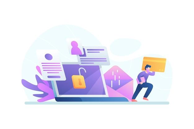Voler le concept de données