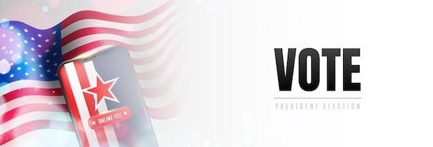 Vote de base pour les élections présidentielles en ligne