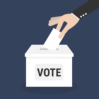 Vote vote avec boîte.