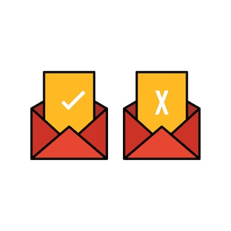 Votez par courrier. restez en sécurité. l'élection présidentielle des états-unis de 2020