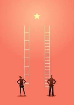 Vous devez travailler plus fort que les autres