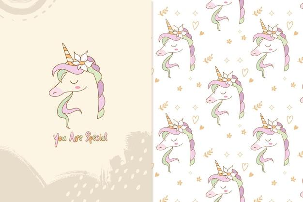 Vous êtes un motif de licorne spécial