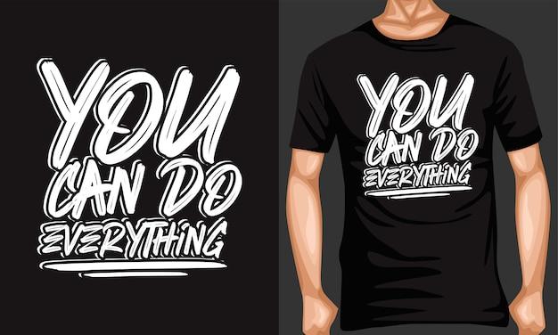 Vous pouvez tout faire en typographie